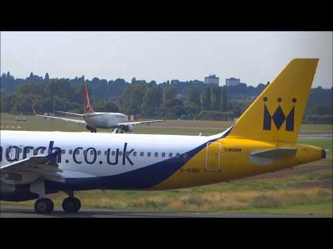 Planes at Birmingham Airport - 10th July 2014