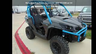 4. 2019 Can-Am® Commander™ XT™ 800R Carbon Black  and  Octan...
