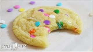 CHEWY Vanilla Sugar Cookie Recipe
