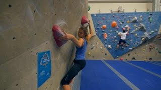 Norea Is Back!! She's Working on Classic Boulder! by Eric Karlsson Bouldering
