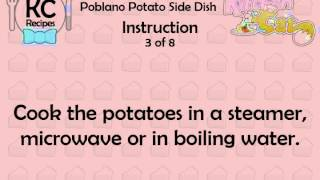 KC Poblano Potato Side Dish YouTube video