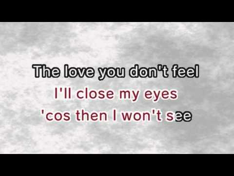 I Can't Make You Love Me (Karaoke and Lyric Version)