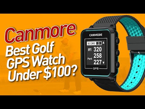 Best Golf GPS Watch Under $100? | Canmore TW-353 GPS Golf Watch Review