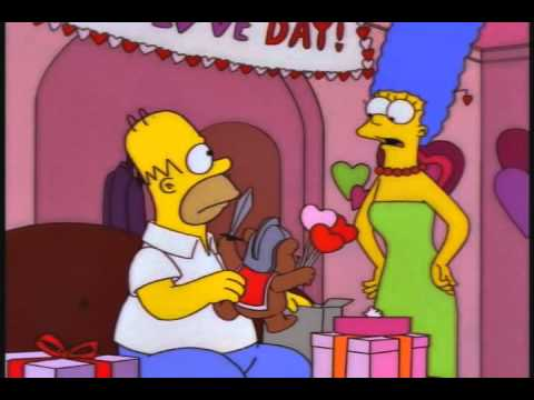 Celebrate Valentines day with The Simpson's Love Day