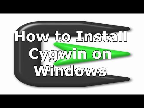 comment installer gcc dans cygwin