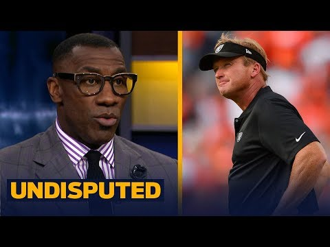 Skip and Shannon talk Jon Gruden and the Oakland Raiders' pass rush | NFL | UNDISPUTED