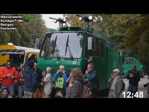 Stuttgart 2010: Chronologie: Polizeieinsatz 30.9.10 Schloßpark stuttgart 21