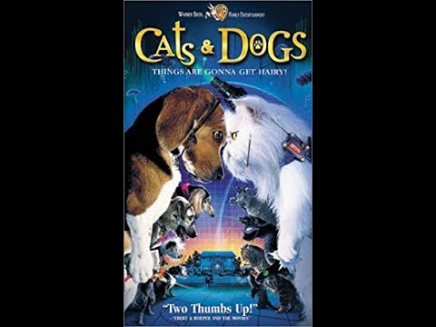 Opening To Cats & Dogs 2001 VHS
