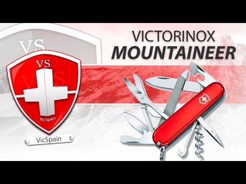 VICTORINOX MOUNTAINEER - SWISS ARMY KNIFE REVIEW (видео)