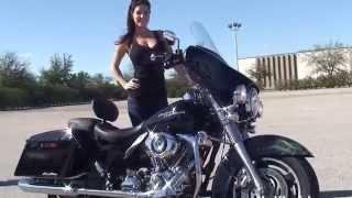 8. Used 2007 Harley Davidson FLHX Street Glide Motorcycle for Sale