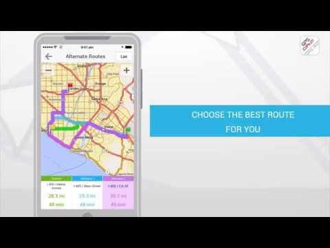 Video of CoPilot GPS - Navigation App