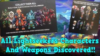 All Lightseekers Characters and Weapons Discovered!