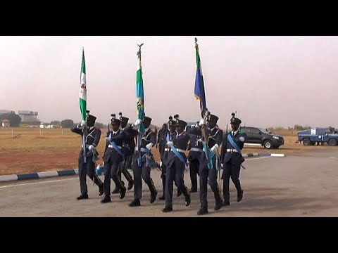 Nigerian Air Force With Another Beautiful Parade #NigerianAirForce