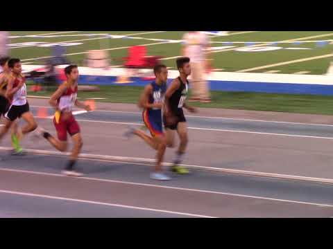Hector Martinez USATF Southern California Association Championship 3000M Race  6-8-2018