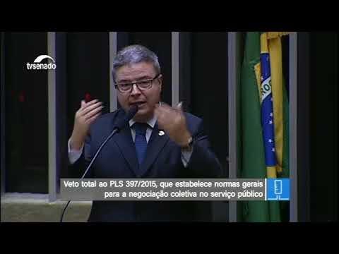 Antonio Anastasia defende derrubada de veto à negociação coletiva