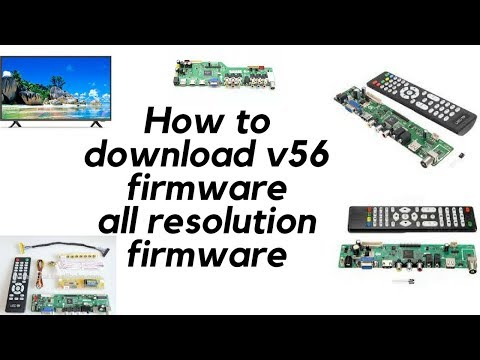 How To Download V56 Bord Firmware // Latest 2018//