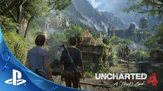 UNCHARTED 4 A Thiefs End 5/10/2016  Story Trailer  PS4