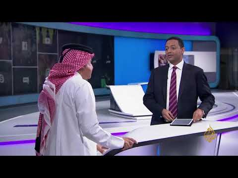 الفنان علي عبد الستار يوقف مذيع الجزيرة عن النيل من السعودية
