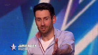 Download Video Britain's Got Talent 2015 S09E02 Jamie Raven Absolutely Incredible Magician Performs a Unique Trick MP3 3GP MP4