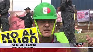 Despliegue policiaco en la frontera- Noticias 62 - Thumbnail