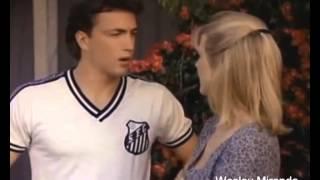 ICFUT - DAS ANTIGAS: Personagem de Melrose Place com a camisa do Santos FC