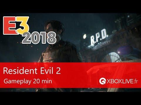 Resident Evil 2 (2019) - 20 minutes de Gameplay en 1080p