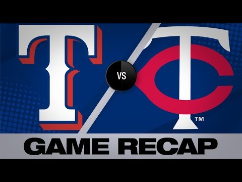 Video: Odor's 11th-inning homer powers Rangers' win | Rangers-Twins Game Highlights 7/7/19