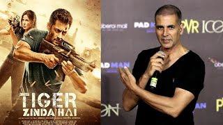 Video Akshay Kumar HELPS Salman Khan's Tiger Zinda Hai Release BAN By MNS By Promoting Marathi Film Deva MP3, 3GP, MP4, WEBM, AVI, FLV April 2018