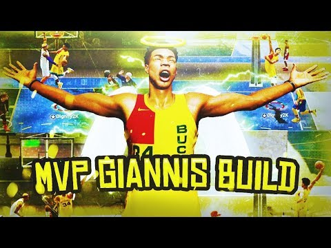 MVP GIANNIS BUILD IS UNGUARDABLE ON NBA 2K19! DEMIGOD REBIRTH SLASHER BUILD WITH RARE CONTACT DUNKS!
