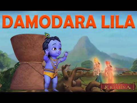 Damodara Lila From Little Krishna TV series