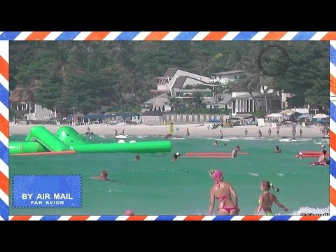 Chaweng Beach – Best beaches in Koh Samui, Thailand – Morning walk on Chaweng beach
