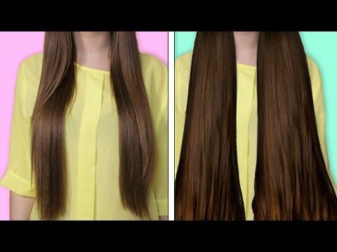 Как сделать длинные волосы густыми и красивыми