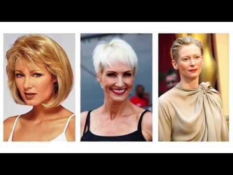 Cortes de pelo corto para mujeres de 50 años
