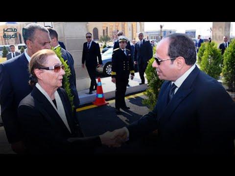 أبرز مشاهد جنازة حسني مبارك