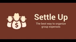 Settle Up - Group Expenses YouTube-Video