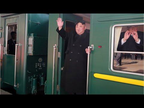 Cận Cảnh Chủ Tịch Kim Jong-un Lên Tàu Hỏa Để Tới Việt Nam (1) - Thời lượng: 60 giây.
