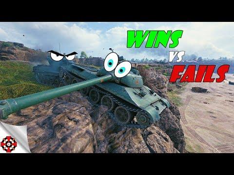 World of Tanks - Funny Moments   WINS vs FAILS! (WoT fails, December 2018