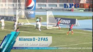 Alianza 0 - 2 FAS J13Apertura2014