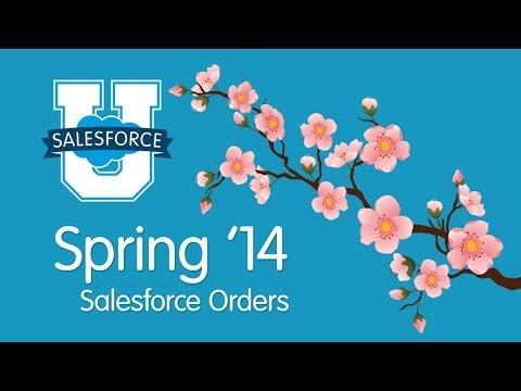 Salesforce Orders