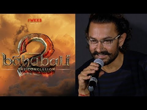Aamir Khan REACTS On Bahubali 2 The Conclusion Suc