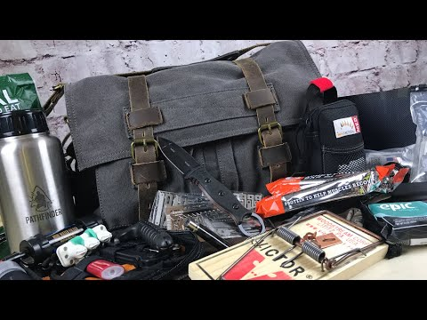 Urban Survival Kit | Get Home Bag: Gray Man Bag & System For When Things Go Sideways (видео)