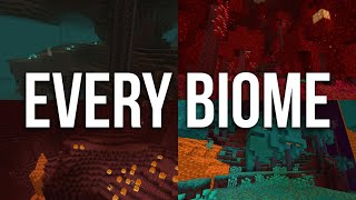 Every NEW BIOME in the Nether Update Minecraft 1.16 Snapshot 20w06a!