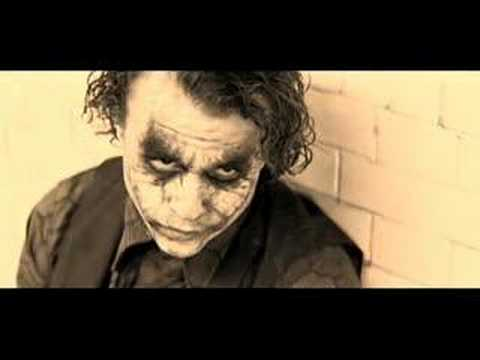 "Heath Ledger's JOKER And PUFF DADDY:  ""Come With Me"""