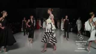 Toni Maticevski - Spring/Summer 2013/2014 Collection Mercedes-Benz Fashion Week Australia - F&B TV