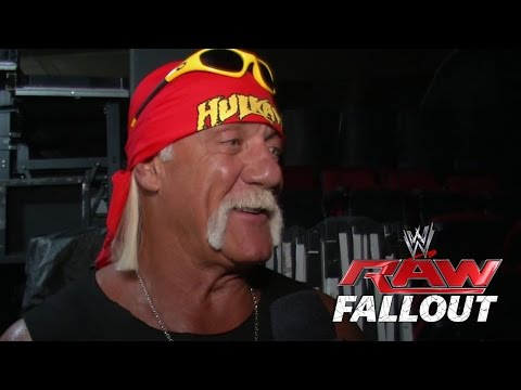 celebrates - Hulk Hogan and Jimmy Hart talk about the birthday celebration on Raw.