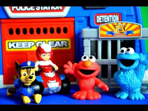 Paw Patrol Episode Cookie Monster In Prison Elmo Chase Ryder Full Story