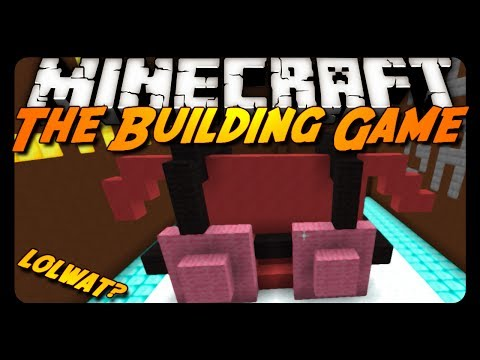 Minecraft: SO MUCH WAT?! - The Building Game #2! w/ Friends!