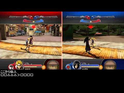 [J-star Victory Vs]Naruto-Basic combos by Hama (видео)
