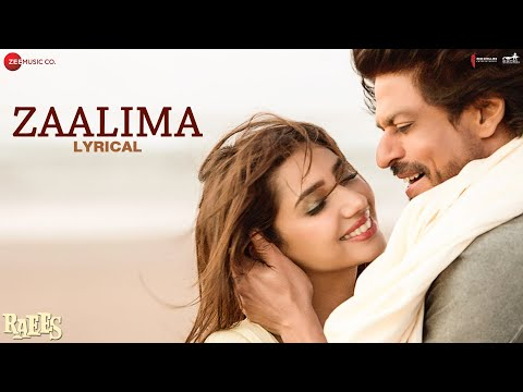 Zaalima - Lyrical | Raees | Shah Rukh Khan & Mahir