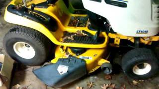 cub cadet problem solved and update   11/20/11